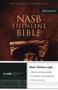 NASB THINLINE BIBLE COLOUR SOFTCOVER