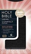 KJV CLASSIC COMPACT BIBLE BLACK BONDED