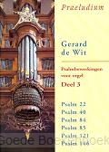 Psalmbewerkingen 3 voor orgel