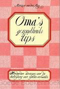 OMA'S GEZONDHEIDSTIPS